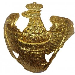 Pickelhaube Brass Wappen Badge