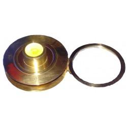 Vintage Brass Desk Magnifying Glass