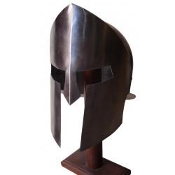 Medieval Spartan Armour Helmet With Replica Metal