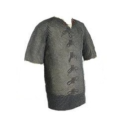Blackend Chainmail Hauberks Armor Chainmaille Costume