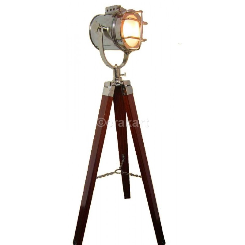 Buy Metal Spot Light Tripod Decor Replica Nautical Online