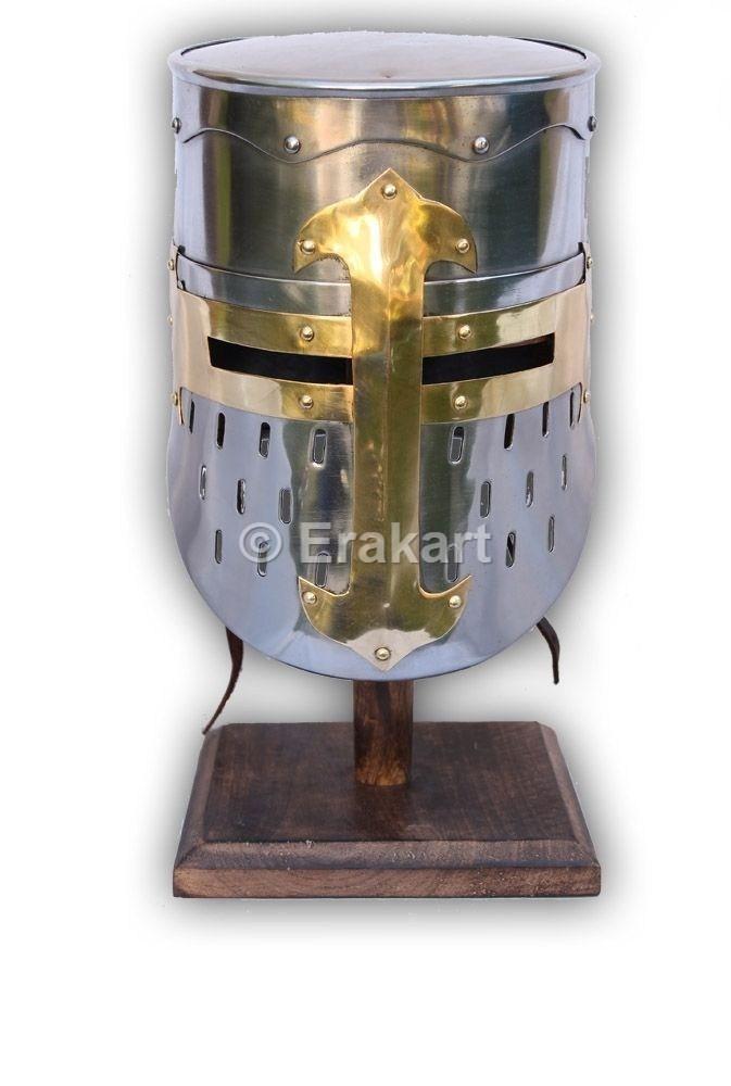 Buy Medieval Knights Templar Armour Helmet Online At