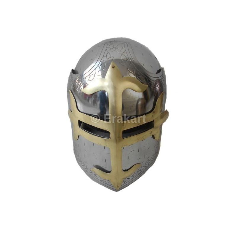 b6b63048fae2d Buy Antique Greek Knight Crusaders Armour Helmet online EraKart SALE.