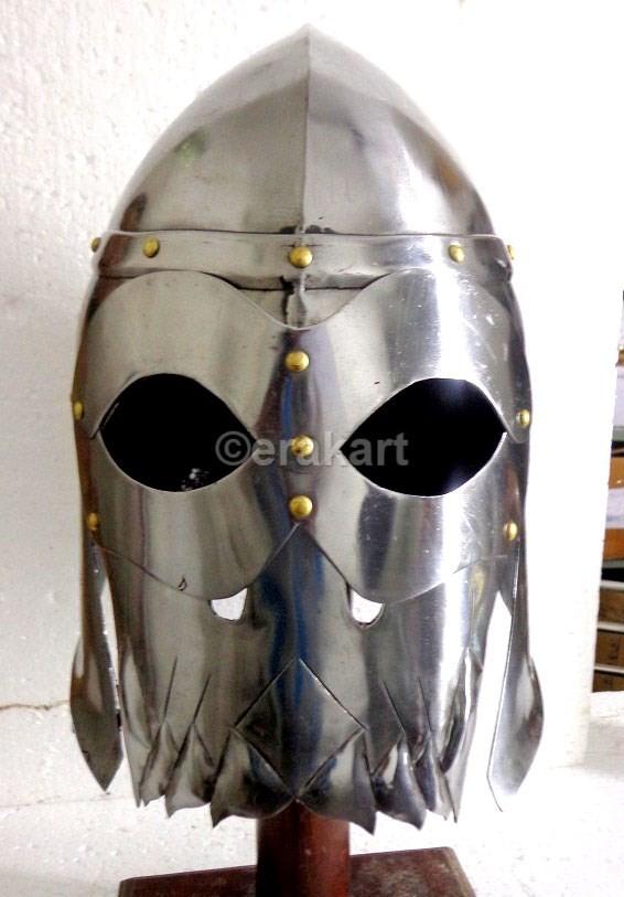 Viking Helmets Medieval Warlord Skull Helmet On Sale