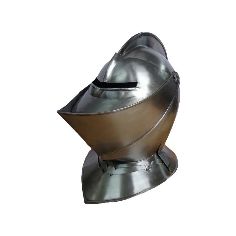 Buy Antique Close Knight Helmet For Larp Sca Replica Helm
