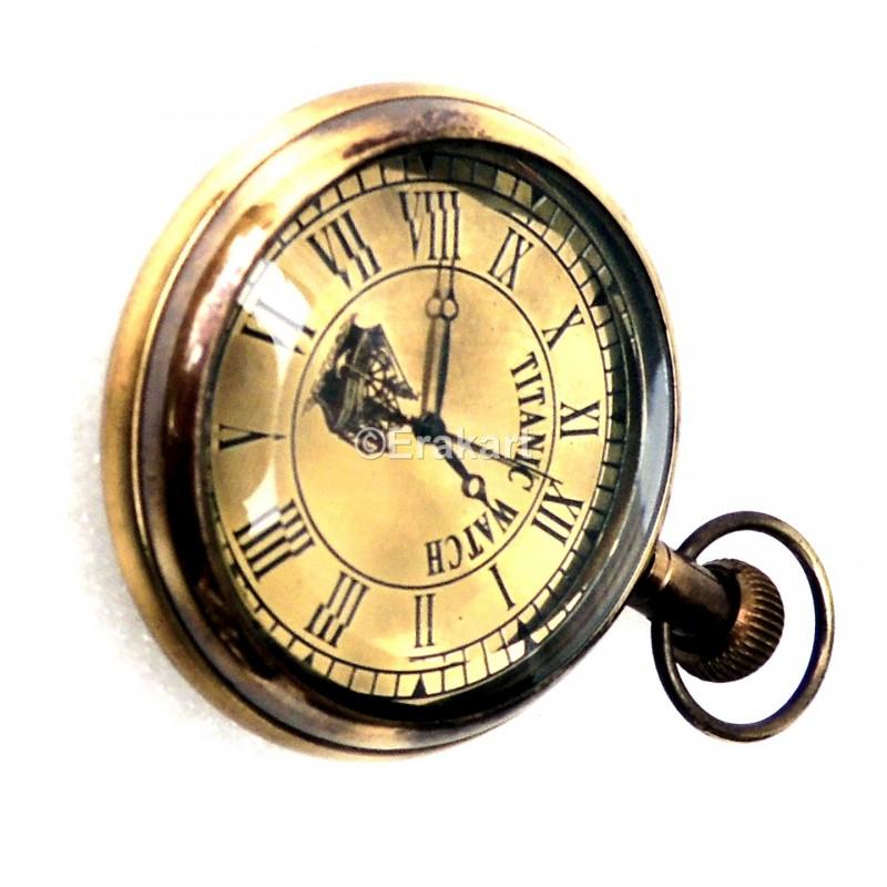 Antique Pocket Watch In Brass Buy Titanic Pocket Watches Online