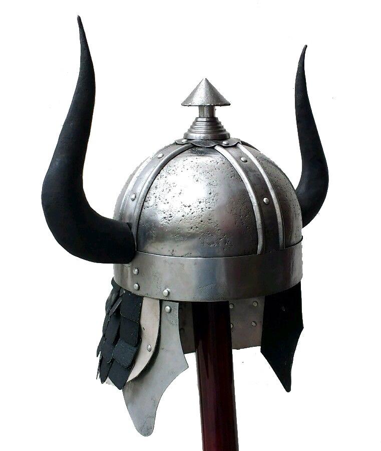 Barbarian Horned Helmet