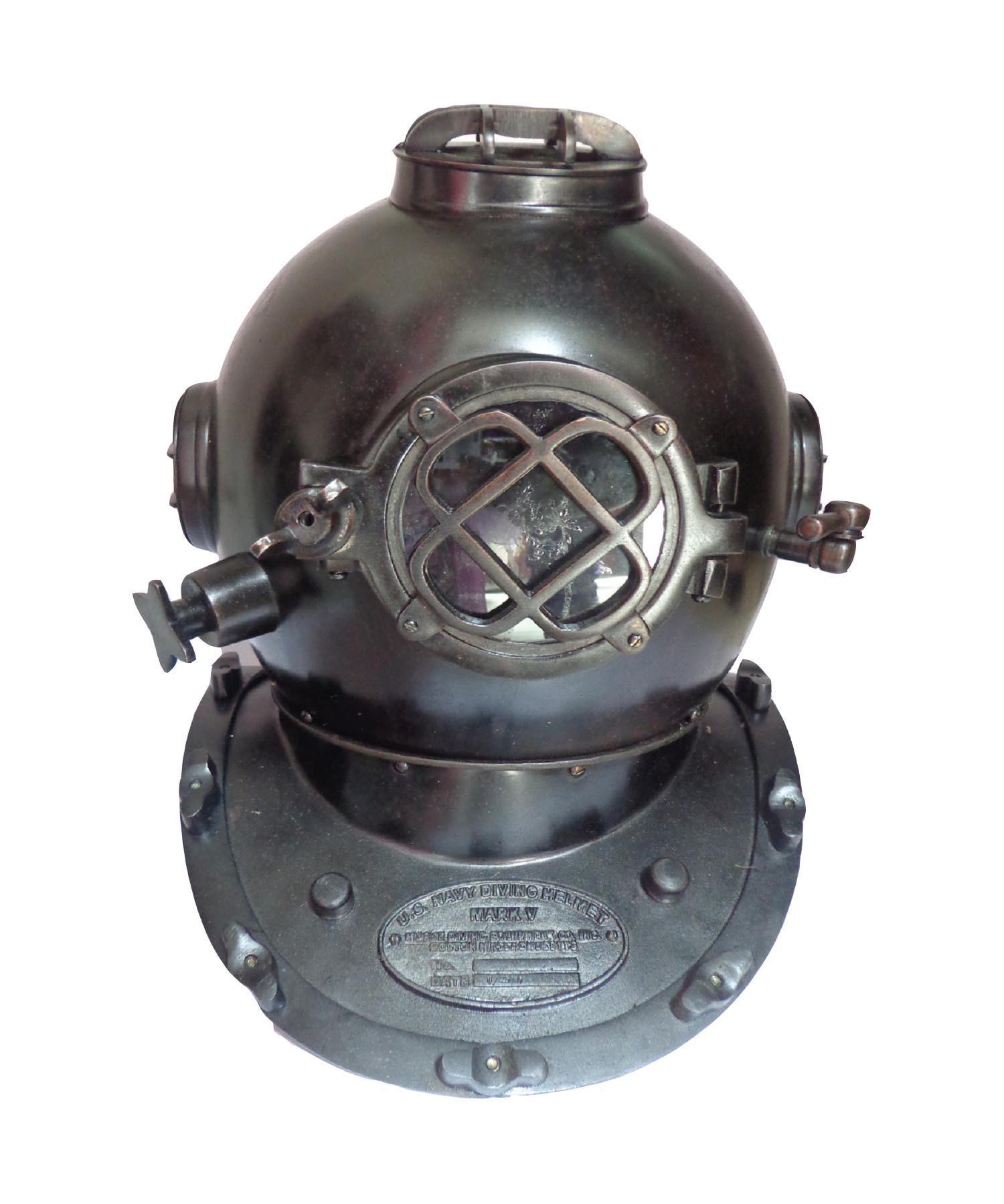 Buy Iron Black Navy Diving Helmets Marine Online At